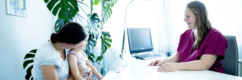 Frauenärztin Balingen - Dr. Harasztosi - Beratung in unserer Praxis