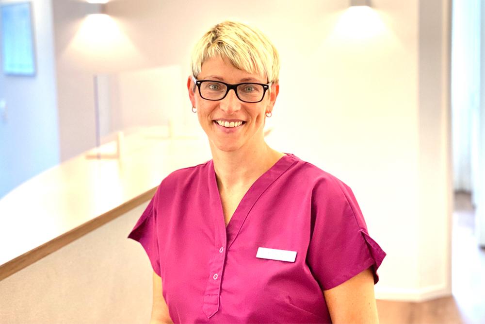 Frauenärztin Balingen - Dr. Harasztosi - Team - Portrait von Mandy Notzon